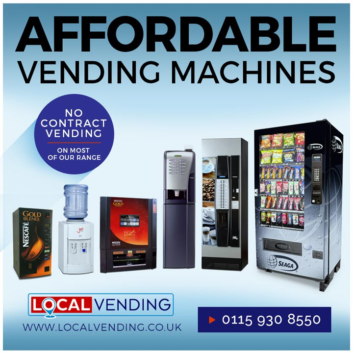 Affordable vending machines