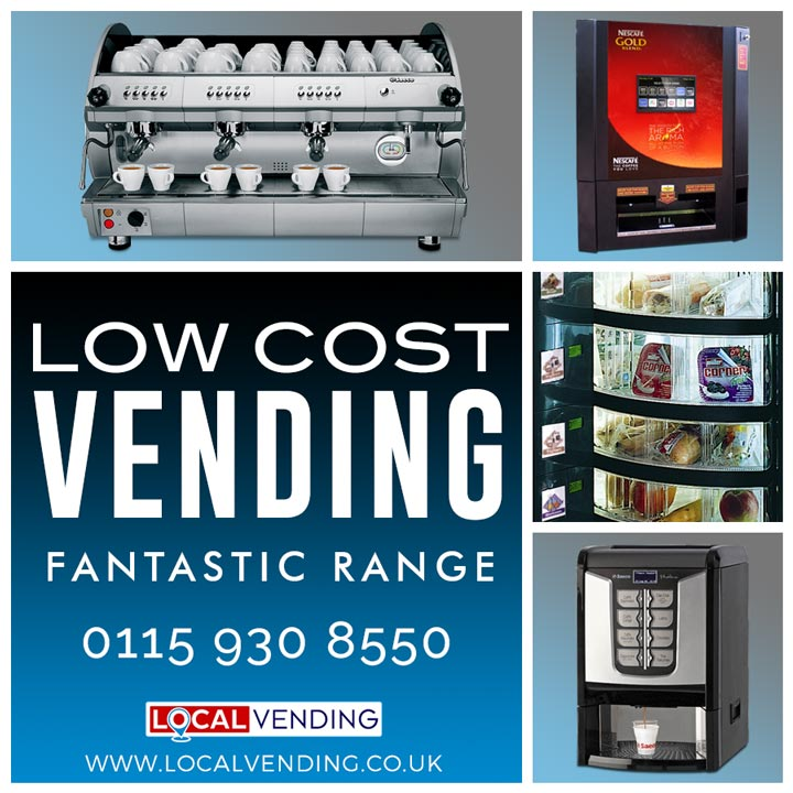 Low cost affordable vending machines